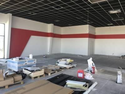 revêtement peinture et sol concessionnaire Honda