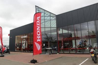 Réalisation de la nouvelle concession Honda Chartres