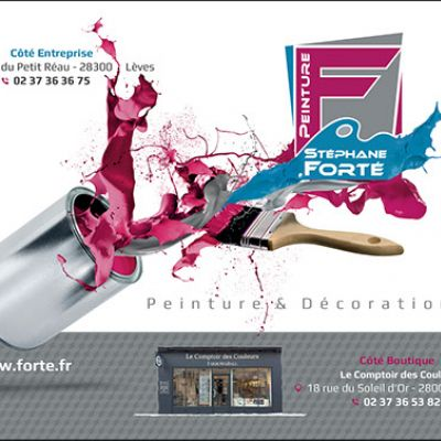 Forté Peinture intervient dans les départements d'Eure-et-Loir, des Yvelines et des Essonne
